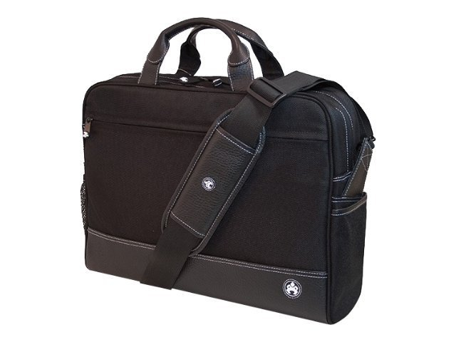 Mobile Edge Mens Professional Briefcase, Black, ME-SUMO89201, 10352165, Carrying Cases - Notebook