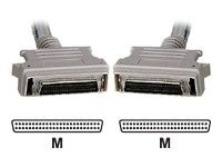 Black Box SCSI-2 Cable, MD50 (M-M), Gray, 10ft, EVMSC01-0010-MM, 8611421, Cables
