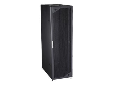 Black Box 42 Deep 42U Universal Server Cabinet with Doors, Sides and Casters