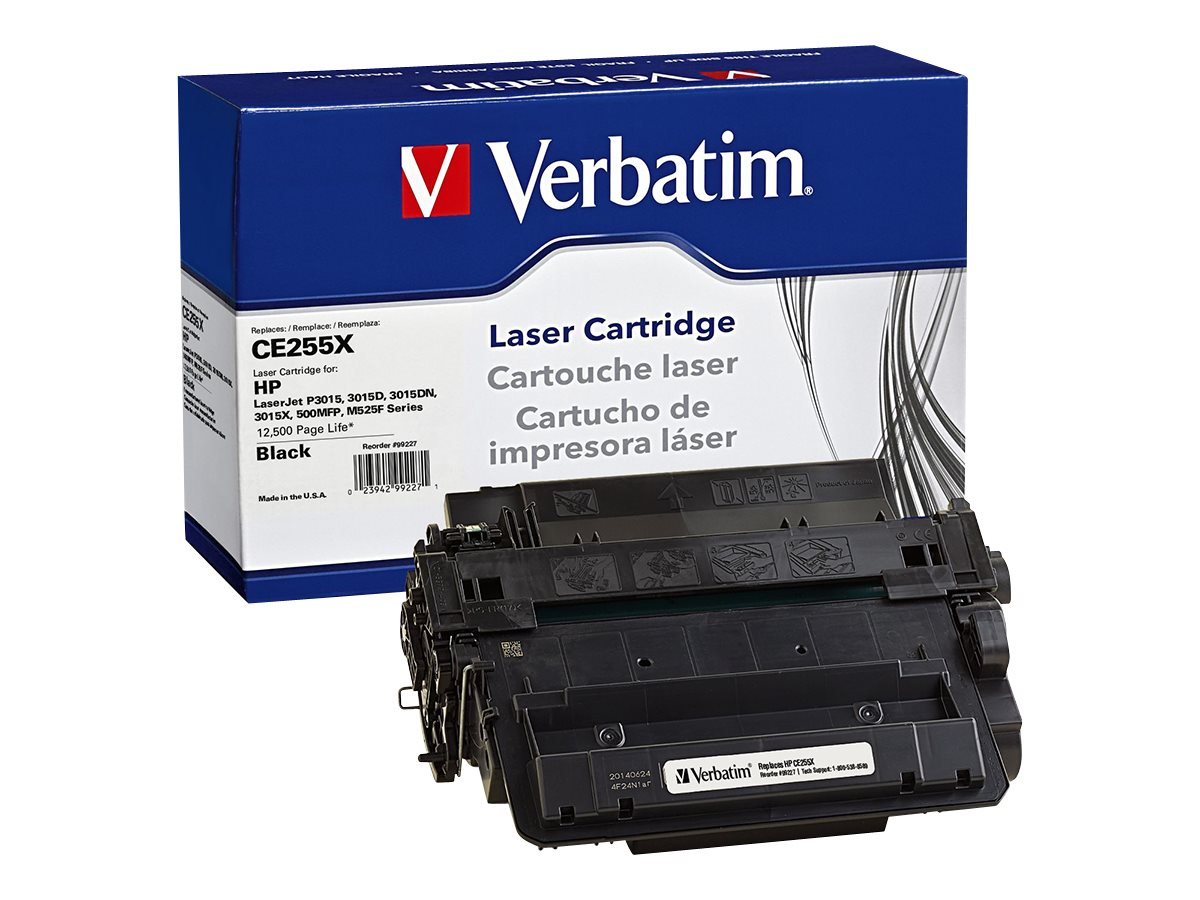 Verbatim CE255X Toner Cartridge for HP, 99227