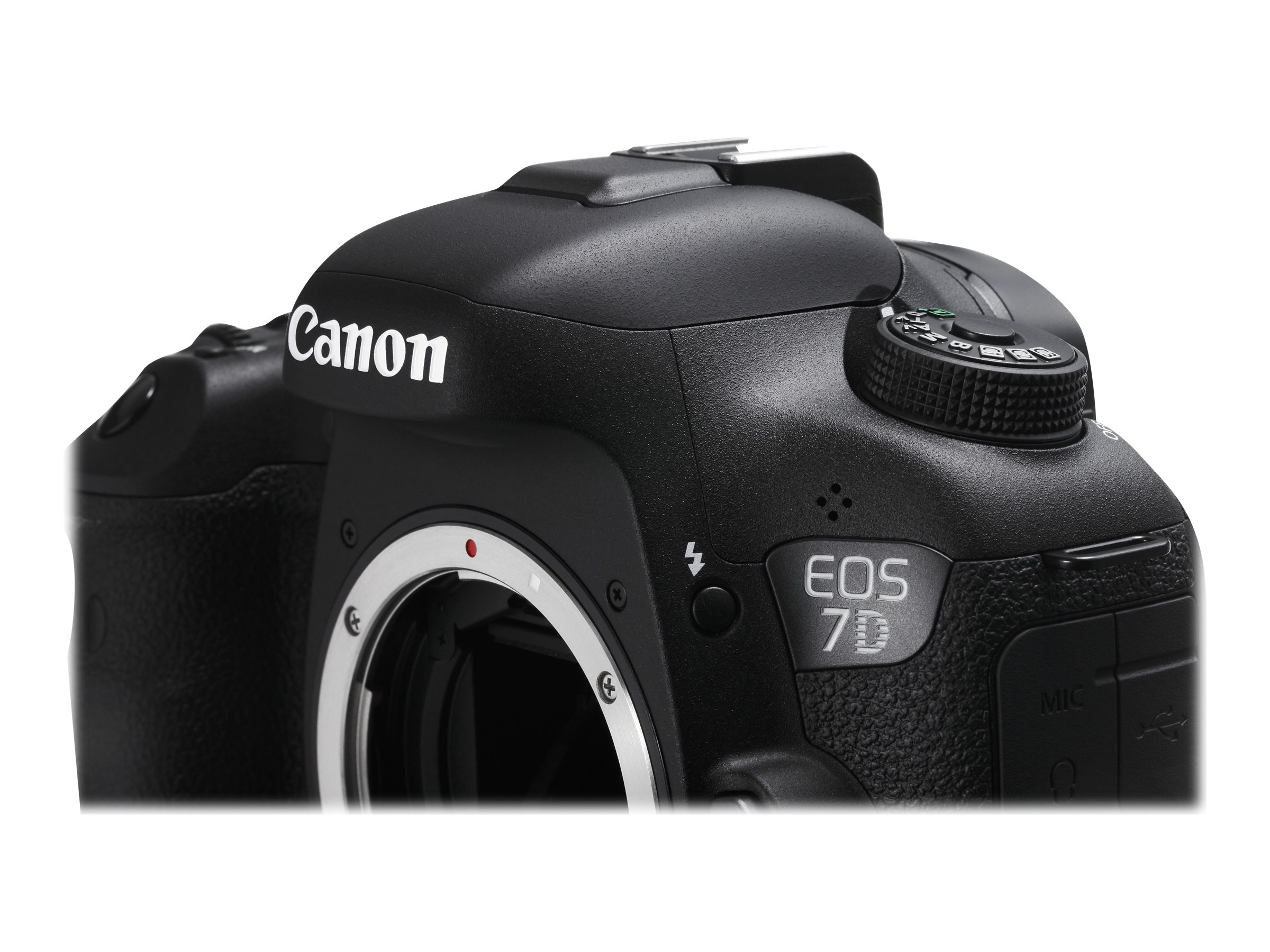 Canon EOS 7D Mark II DSLR Camera, 20.2MP, Black (Body Only), 9128B002
