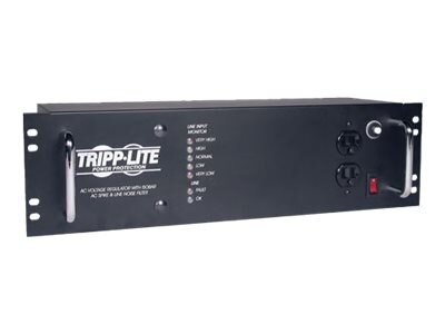 Tripp Lite 2400W RM 3U Line Conditioner with Isobar Protection (14) Outlet 120V, LCR2400