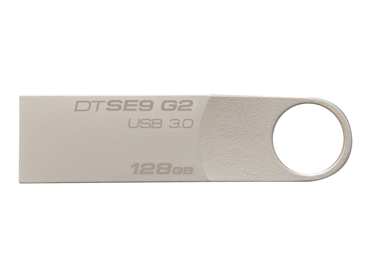 Kingston 128GB DataTraveler SE9 G2 USB 3.0 Flash Drive, DTSE9G2/128GB, 19138229, Flash Drives