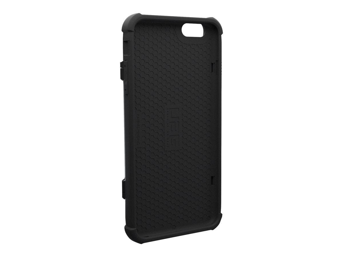 Urban Armor Card Case for iPhone 6 Plus 6s Plus, Black, IPH6/6SPL-N-BLK