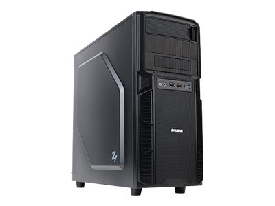 Zalman Chassis, Z1 Mid ATX 4x3.5 Bays 2x5.25 Bays USB 3.0, Black, Z1, 17044270, Cases - Systems/Servers