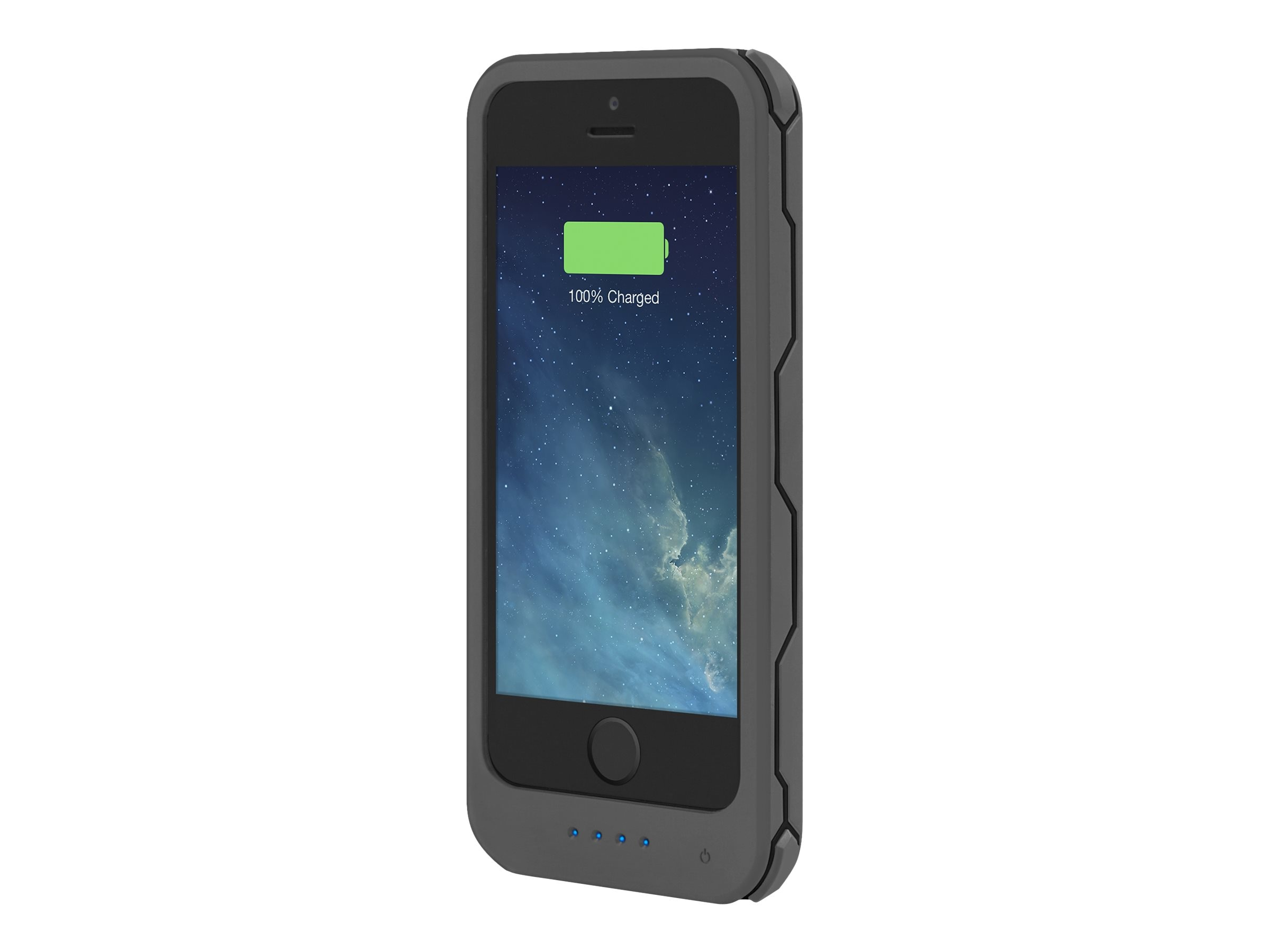 Incipio offGRID Rugged Backup Battery Case 2000mAh for iPhone 5, 5s, SE, Gray