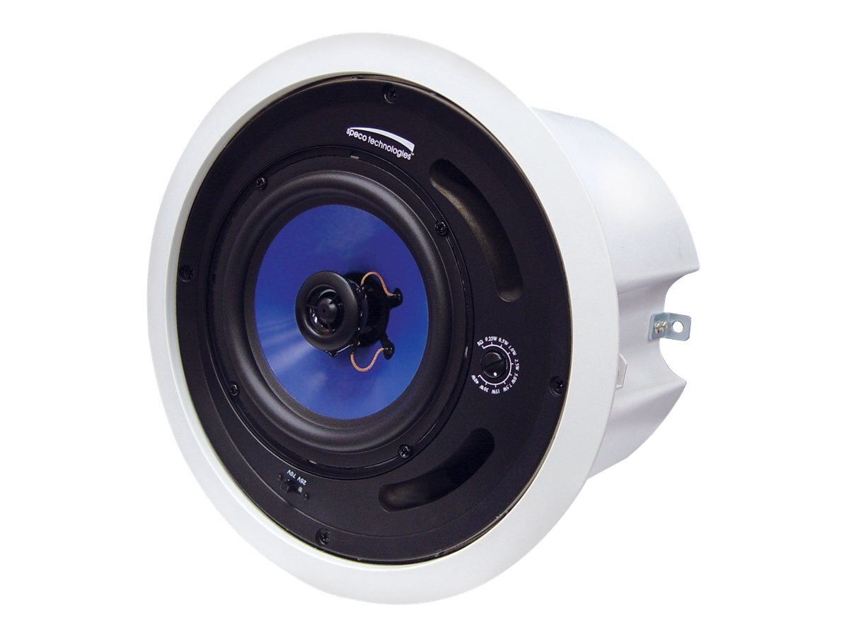 Speco In-Ceiling 60-Watt Speaker, 5in