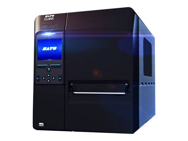 Sato CL424NX UHF RFID Printer w  Dispenser, WWCL30261R