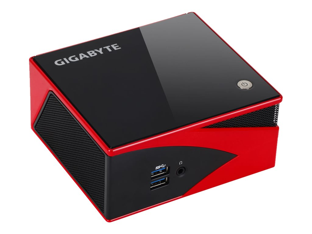 Gigabyte Tech Barebones, BRIX Ultra Compact PC A8-5557M 2.1GHz Max.16GB DDR3L 1x2.5 Bay HD8550G GbE ac BT NoOS, GB-BXA8-5557, 19857864, Barebones Systems