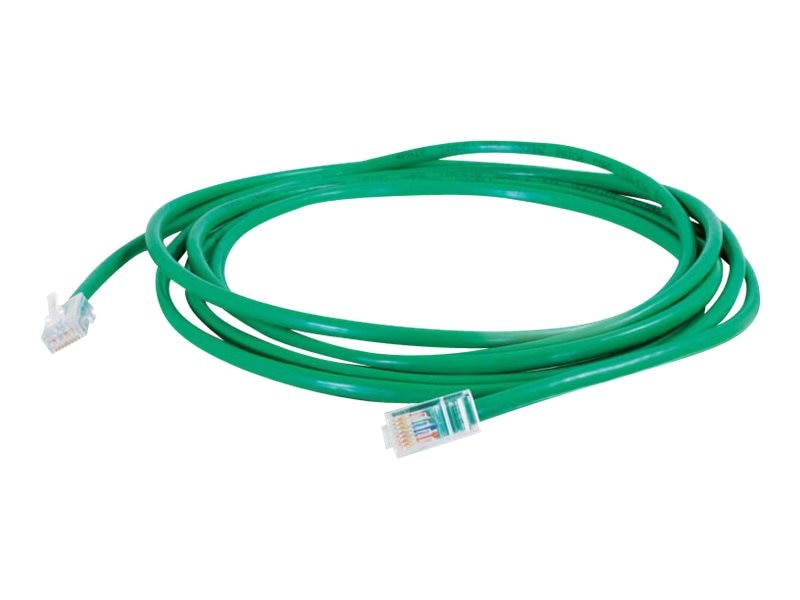 C2G Cat5e 350MHz Crossover Cable, Green, 7ft