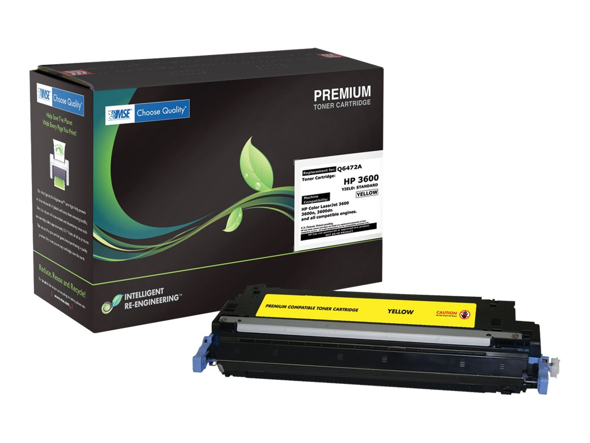 Q6472A Yellow Toner Cartridge for HP 3600