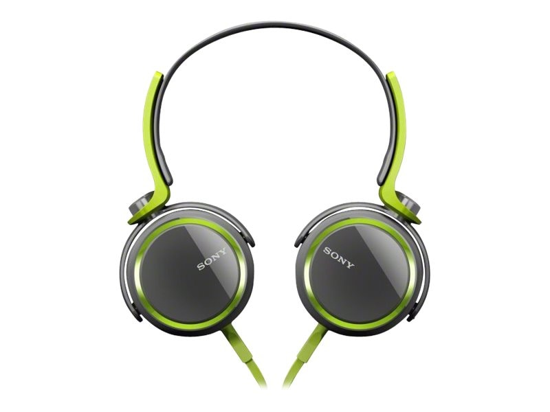 Sony Extra Bass 30mm Headphones - Green, MDRXB400/GRN