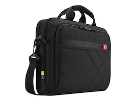 Case Logic 17.3 Laptop and Tablet Case, Black, DLC-117BLACK, 13663250, Carrying Cases - Notebook