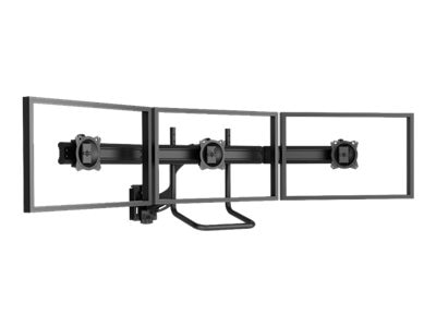 Chief Manufacturing Kontour K4 3x1 Focal Depth-Adjustable Array, Slat-Wall Mounted - Black (TAA Compliant)