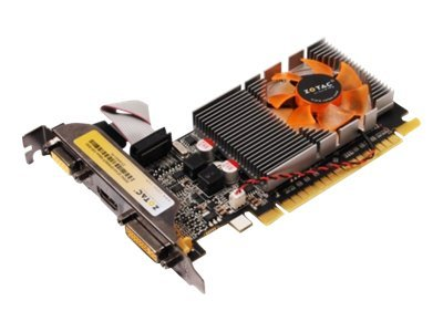 Zotac GeForce GT 610 Synergy Edition PCIe 2.0 Graphics Card, 1GB GDDR3