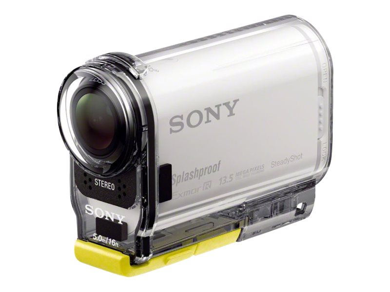 Sony Splashproof POV Action Cam, HDRAS100VR/W, 17052835, Camcorders