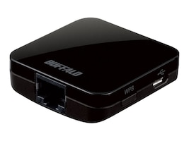 BUFFALO AirStation AC433 Wireless Travel Router, WMR-433-BK, 17425654, Wireless Routers
