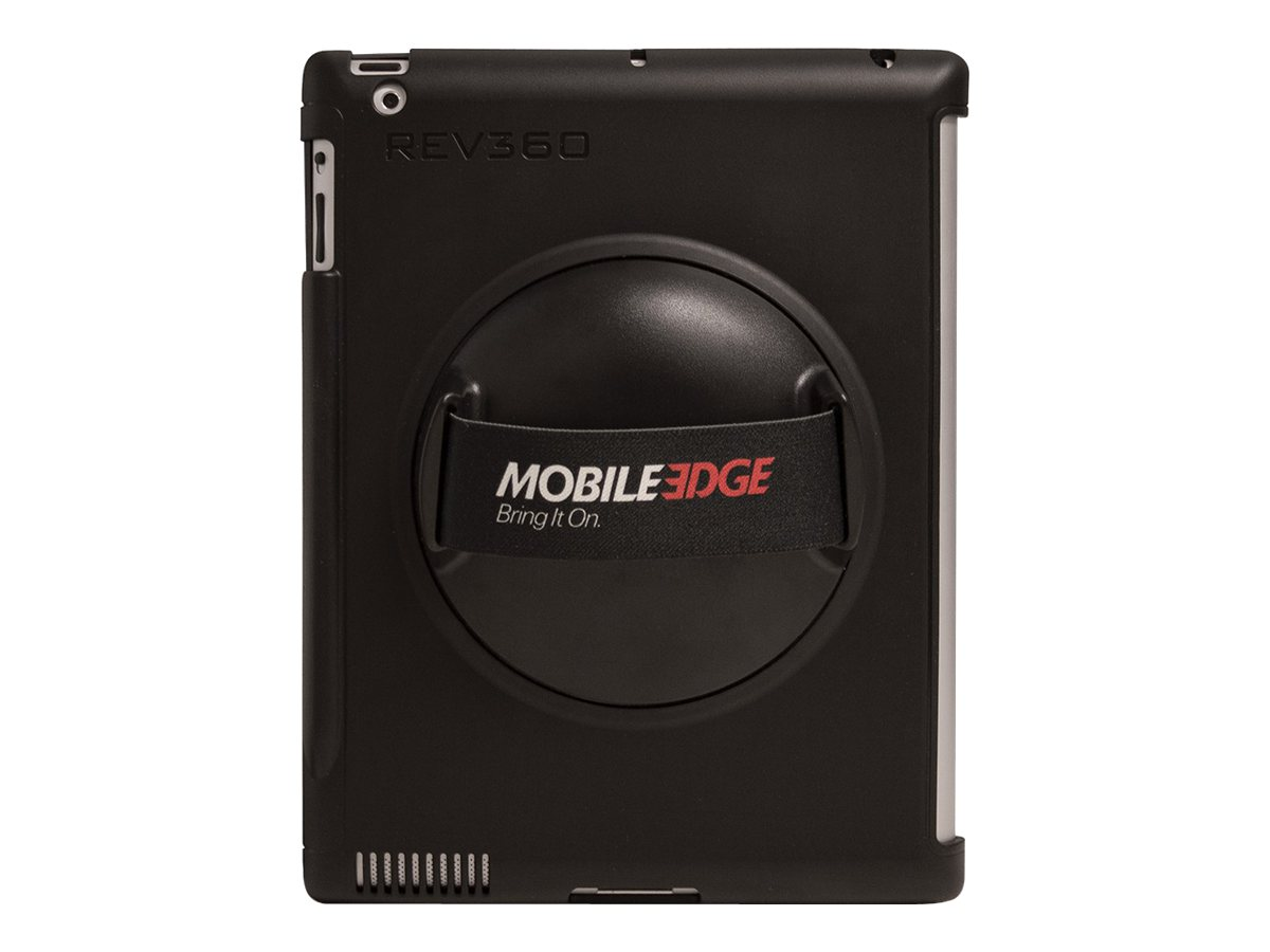 Mobile Edge REV 360º Rotating Case for iPad 2, iPad 3, Black, ME-REVS1