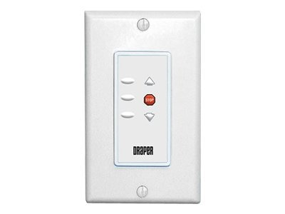 Draper Low Voltage Wall Switch for Phantom Projector Lift