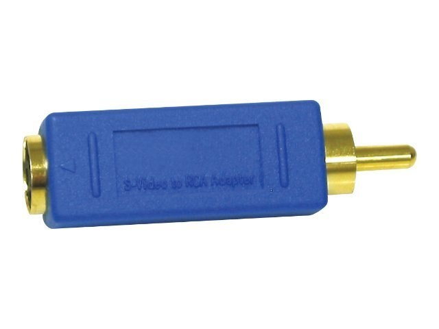 C2G Bi-Directional RCA M to S-Video F Video Adapter