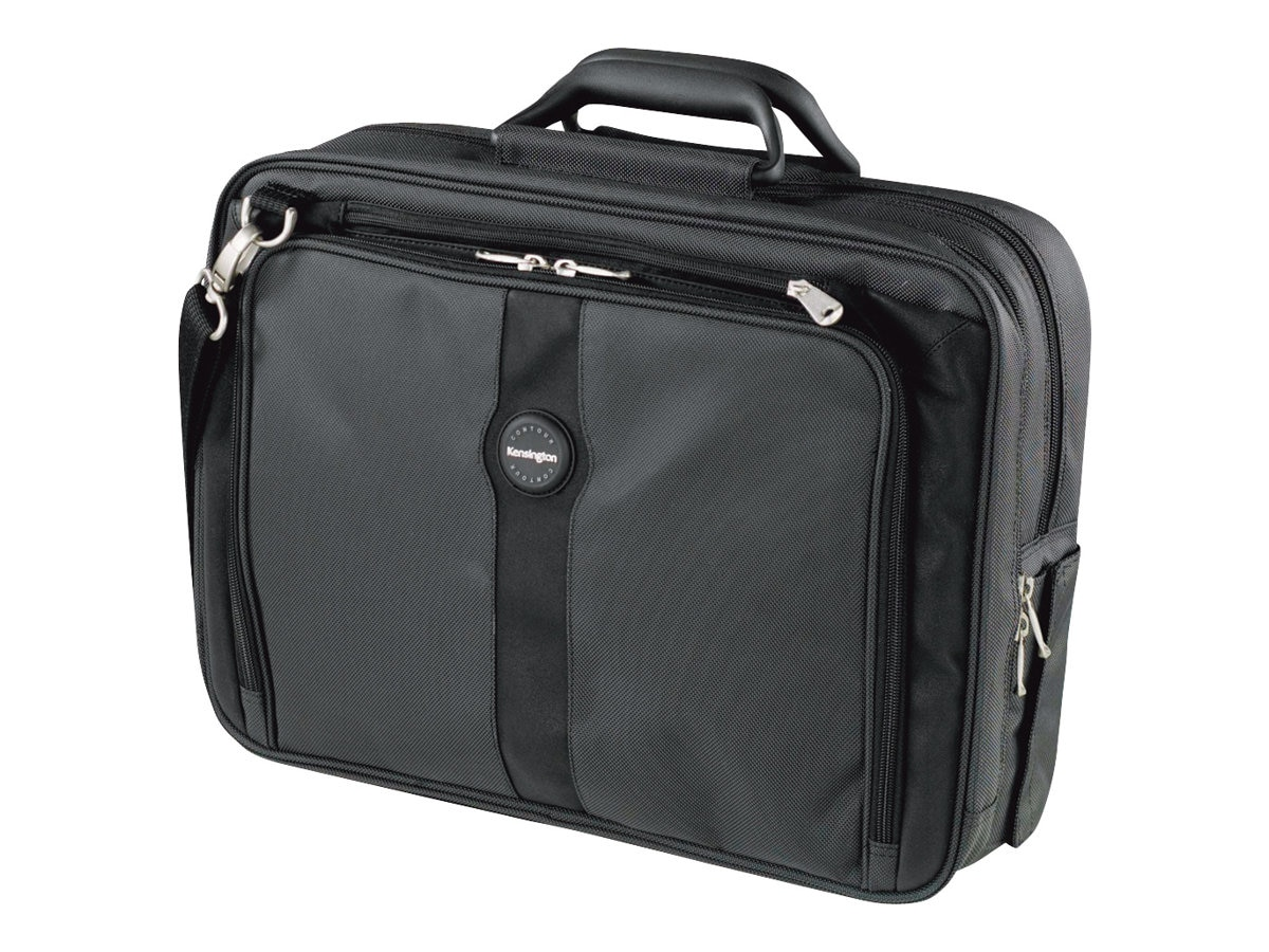Kensington Contour Pro 17 Notebook Carrying Case, Black, K62340C, 10063751, Carrying Cases - Notebook