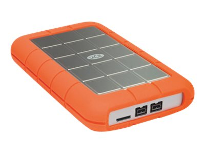 Lacie 1TB Rugged Triple USB 3.0 FireWire800 Portable Hard Drive, 301984