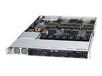 Supermicro Chassis, SuperChassis 818A 1U RM 3x3.5 HS Bays 1xSlot 7xFans 1400W