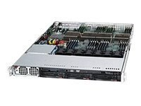 Supermicro Chassis, SuperChassis 818A 1U RM 3x3.5 HS Bays 1xSlot 7xFans 1400W, CSE-818A-1400B, 18474335, Cases - Systems/Servers