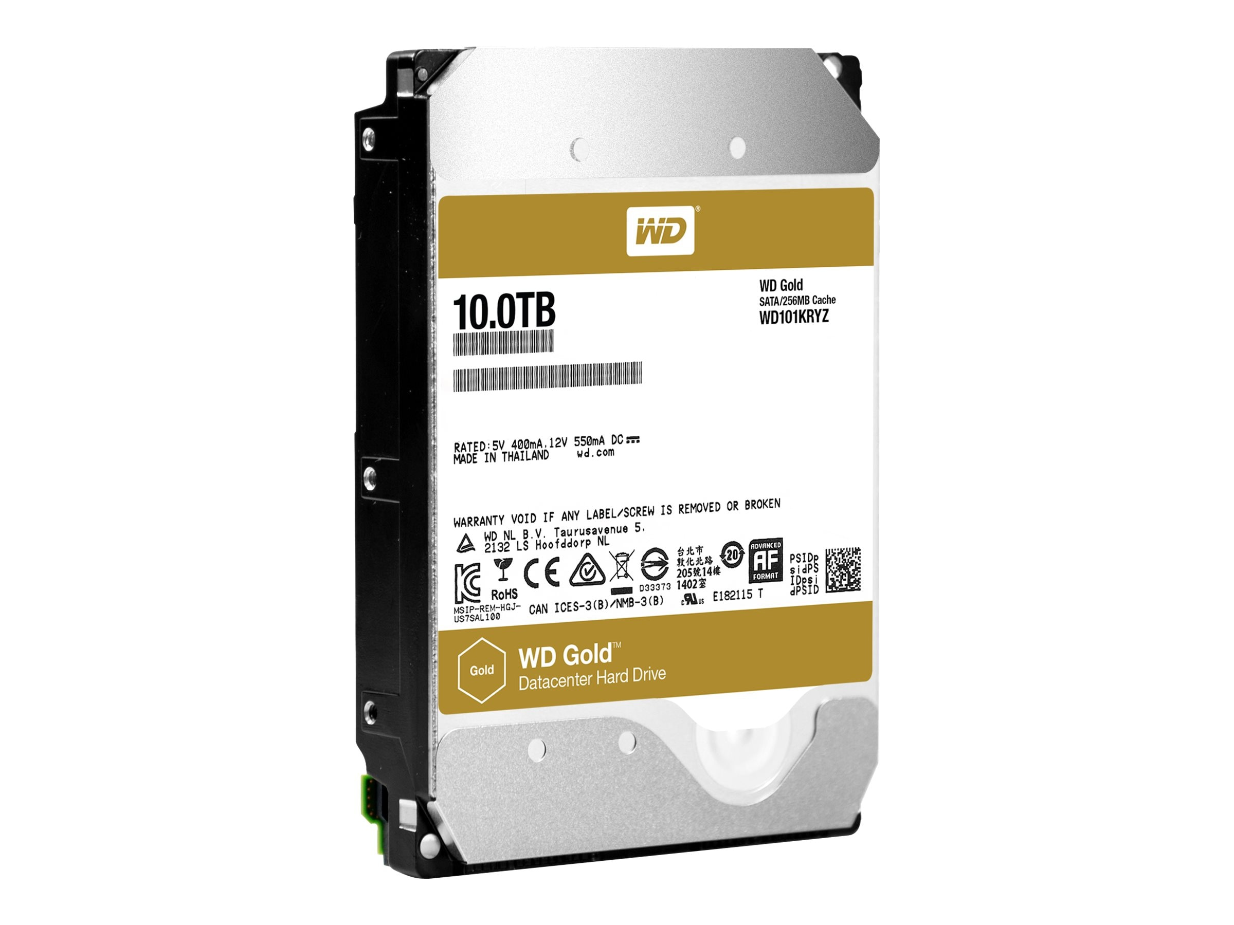 WD 10TB WD Gold SATA 6Gb s 3.5 Datacenter Hard Drive