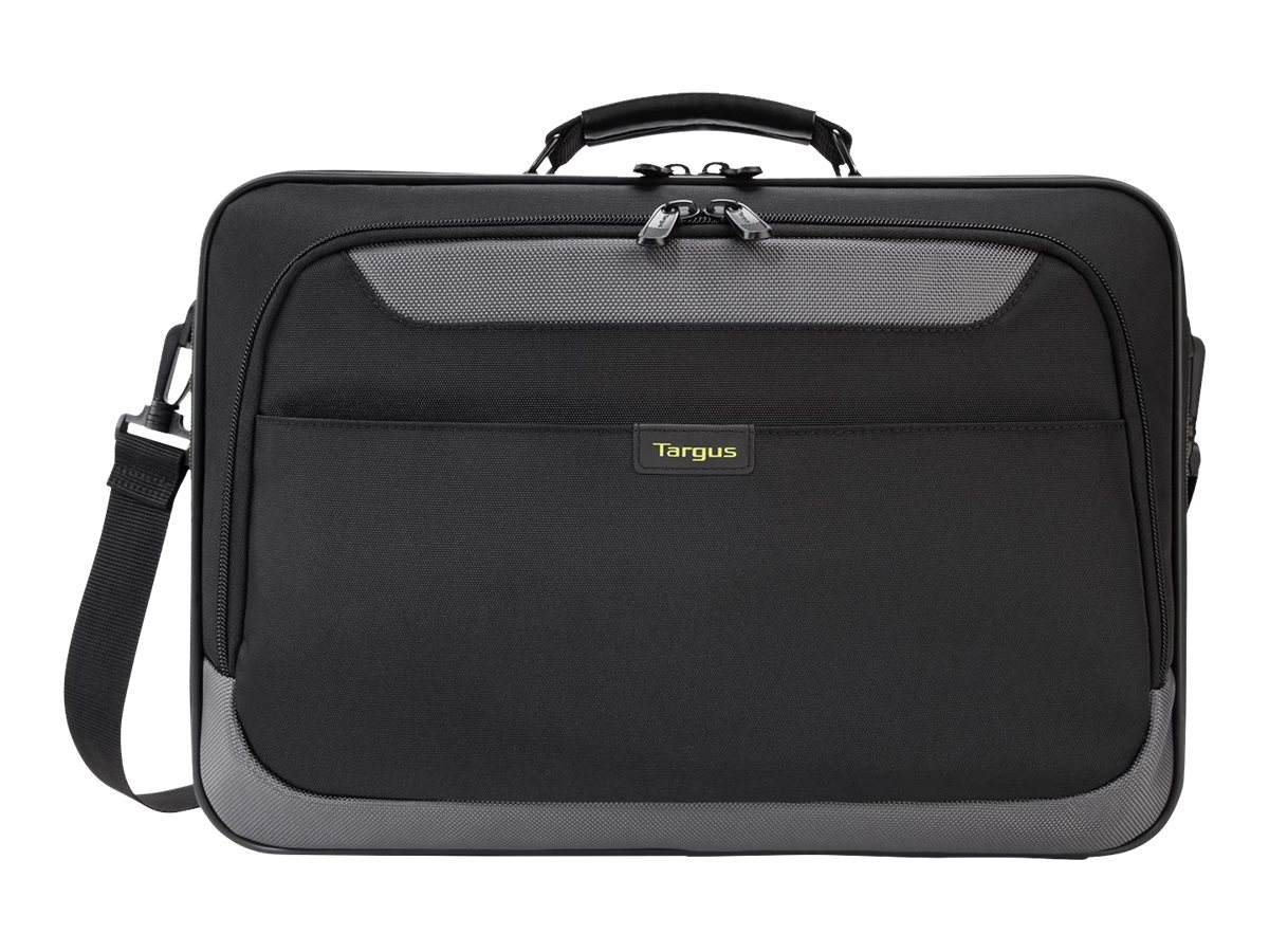 Targus Citygear II Clamshell Case w  Dome Shock Dispersion, Black Gray, TCG058