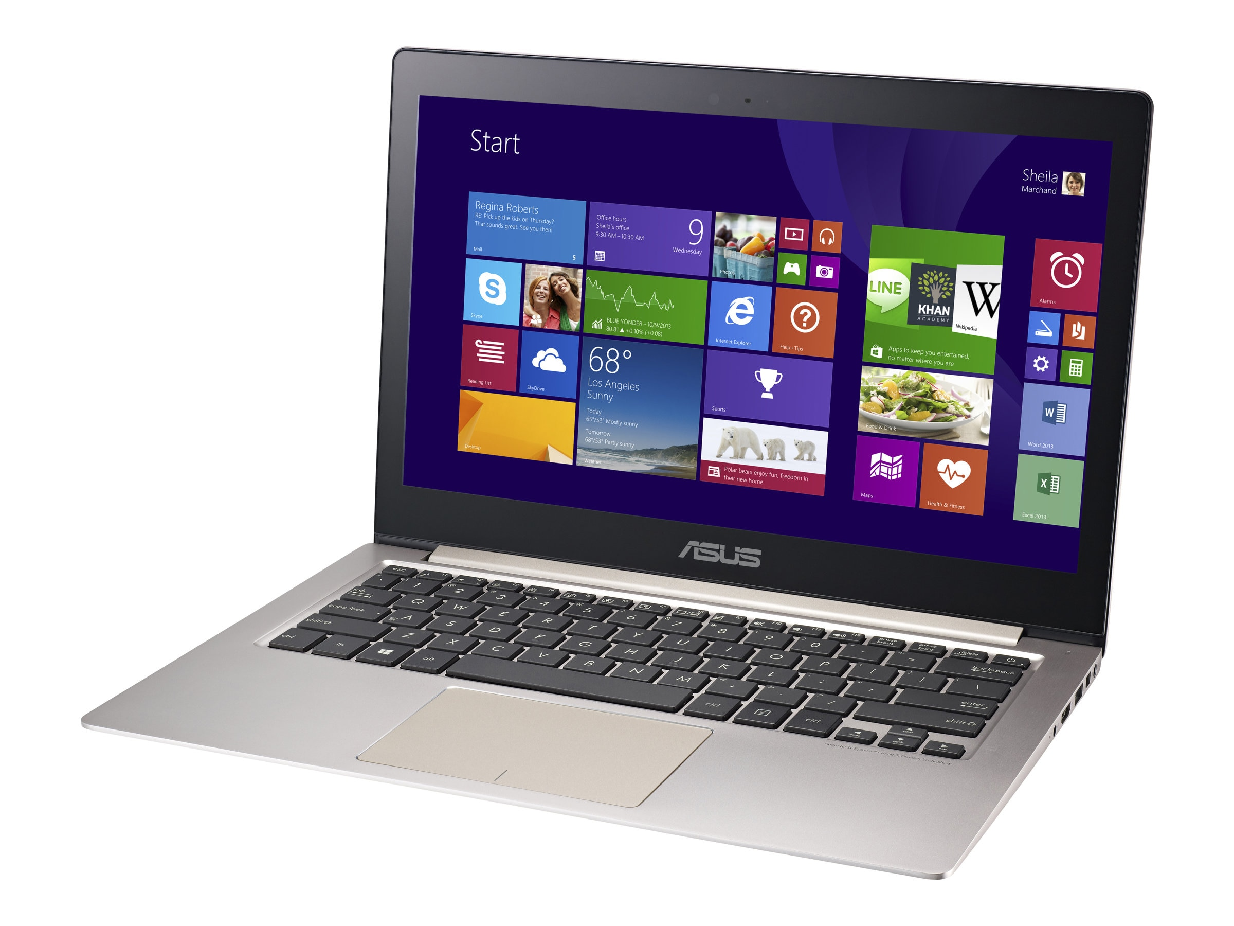 Asus UX303UB Core i7 2.5GHz 12GB 512GB 13.3 Touch W10-64, UX303UB-DH74T, 30578436, Notebooks