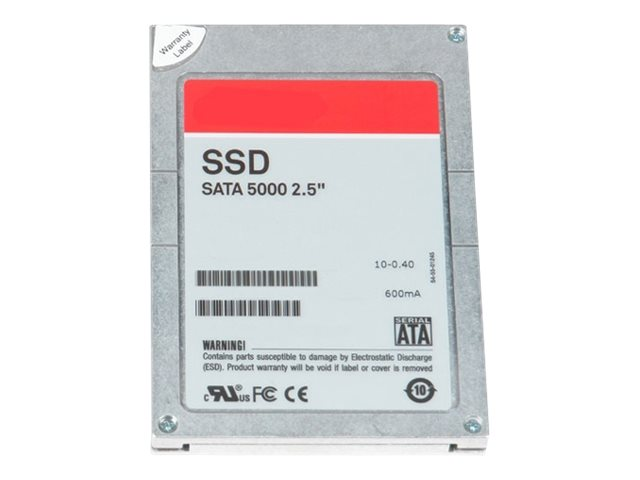 Dell 400GB SATA 6Gb s MLC 1.8 Internal Solid State Drive, 400-AEIY, 30926365, Solid State Drives - Internal