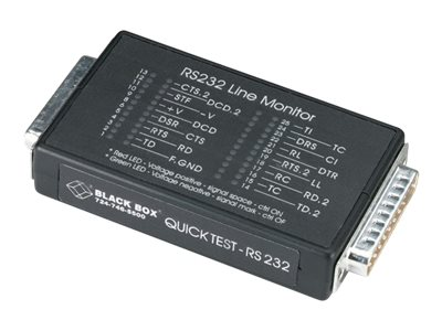 Black Box Quick Test RS-232, TS000A, 15108161, Tools & Hardware