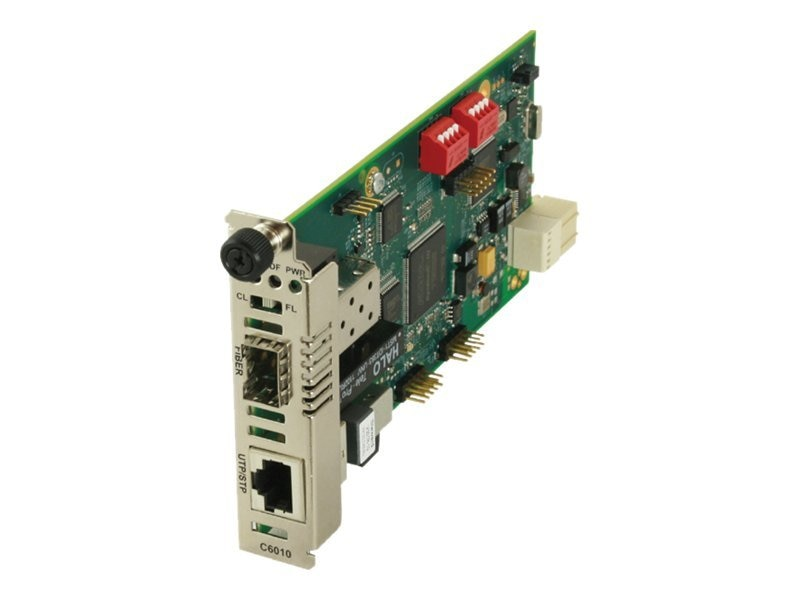 Transition ION TDM Converter Card T1 E1 to Fiber 1XSFP, C6010-1040, 12835970, Network Transceivers