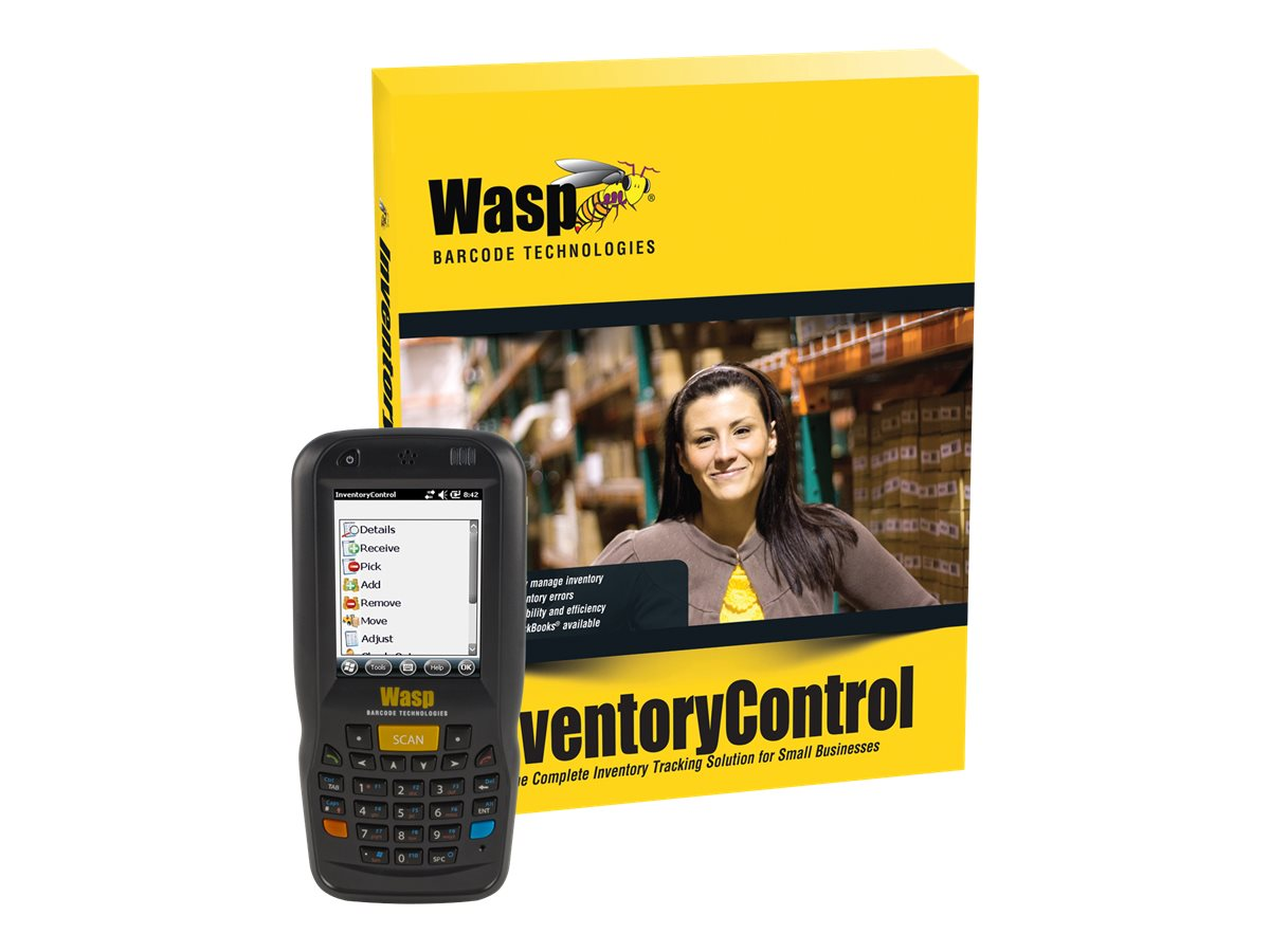 Wasp Inventory Control RF Pro w  DT60 (5-user), 633808929442, 17688278, Portable Data Collector Accessories