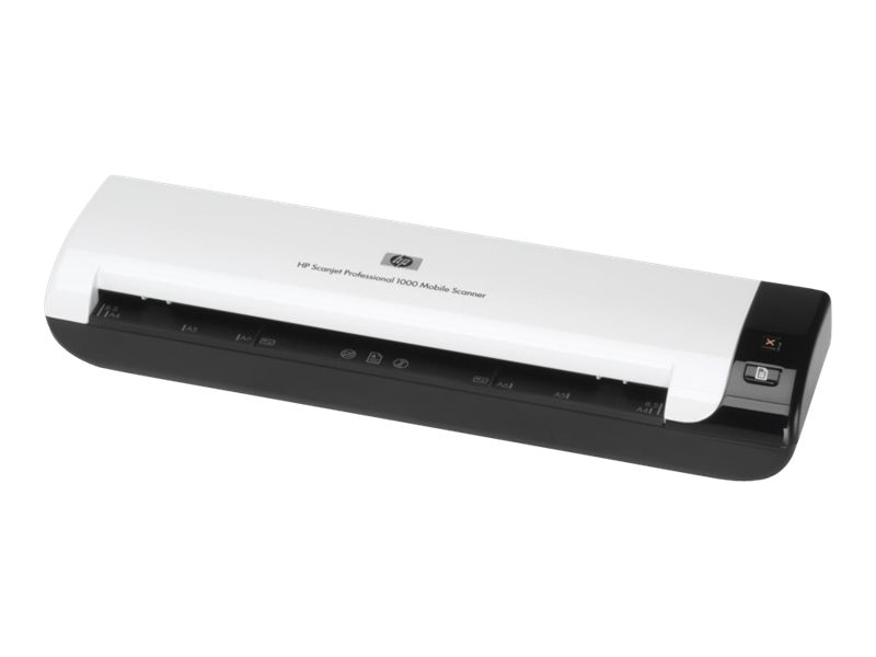 HP ScanJet Pro 1000 Mobile Sheetfed Scanner, L2722A#BGJ