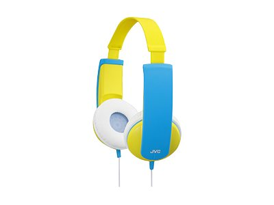 JVC Kids Headphones - Yellow, HA-KD6-Y