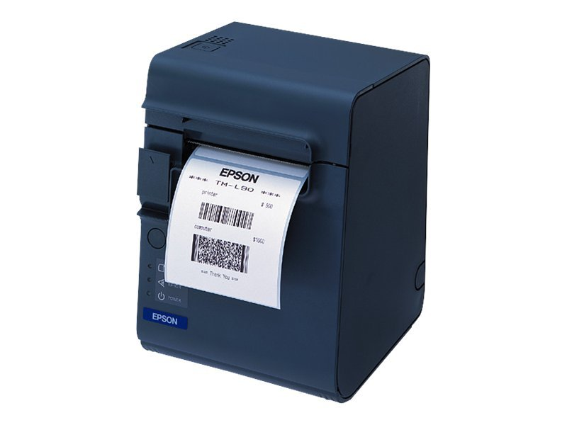 Epson TM-L90 USB Printer w  Edge, Power Supply & Label Software, C31C412144, 12960041, Printers - Bar Code