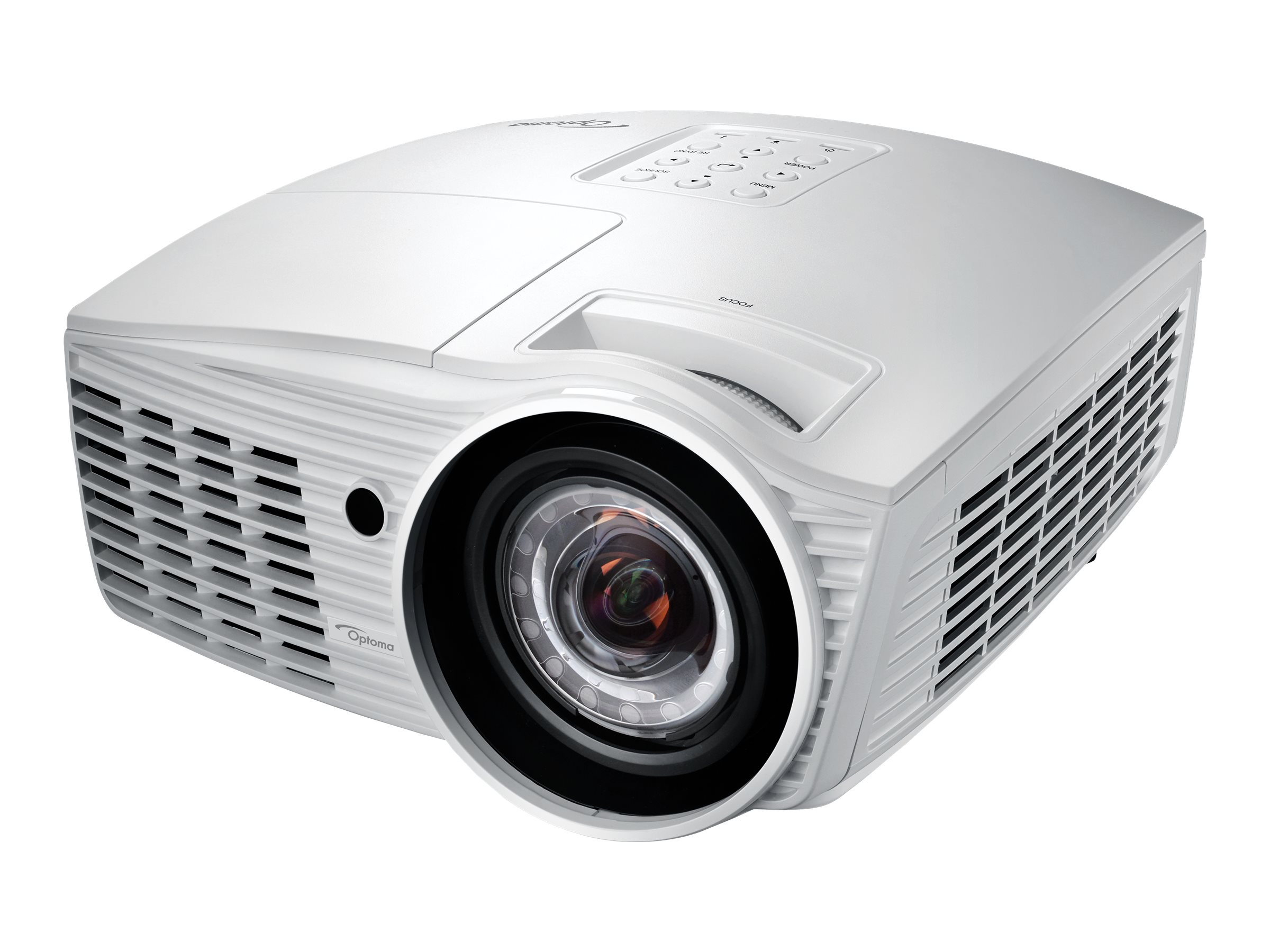 Optoma EH415ST Full HD DLP Projector, 3500 Lumens, White, EH415ST, 21982120, Projectors