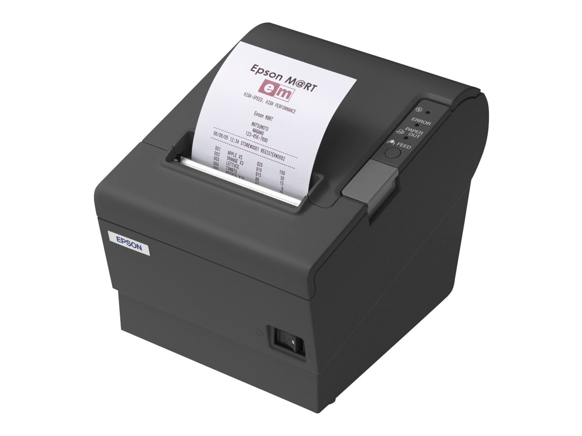 Epson TM-T88IV ReStick Direct Thermal Monochrome Desktop Label Printer, C31C636A6901, 15191971, Printers - Label