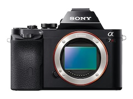 Sony a7R Interchangeable Lens Camera Body Only, ILCE7R/B, 16390373, Cameras - Digital