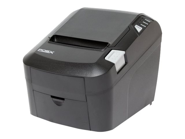 Pos-X EVO HiSpeed USB Parallel Thermal Receipt Printer - Black, EVO-PT3-1HUP