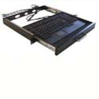 Adesso 1U Rackmount Keyboard Drawer with built-in Touchpad Keyboard (USB), ACK-730UB-MRP, 4868587, Keyboards & Keypads