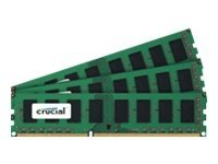 Crucial 3GB PC3-8500 240-pin DDR3 SDRAM DIMM Kit, CT3KIT12864BA1067, 14867297, Memory