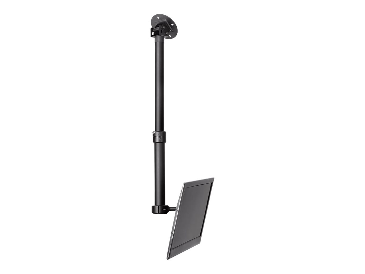 Atdec Adjustable Ceiling Mount (15-35) for Flat Panels up to 40 and 55 lbs. - TAA- TV, TH-1040-CTS-TAA, 12134639, Stands & Mounts - AV