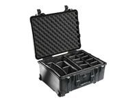 Pelican 1564 Waterproof 1560 Case with Dividers, Black