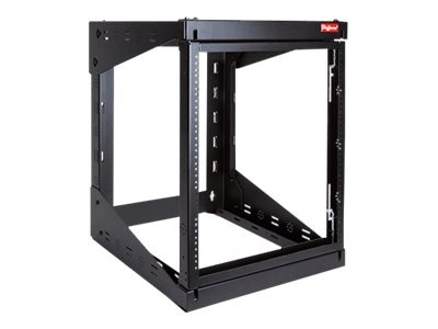 Hoffman Swing Out Rack 25U 24in Blk, E19SWM25U24, 16229504, Racks & Cabinets