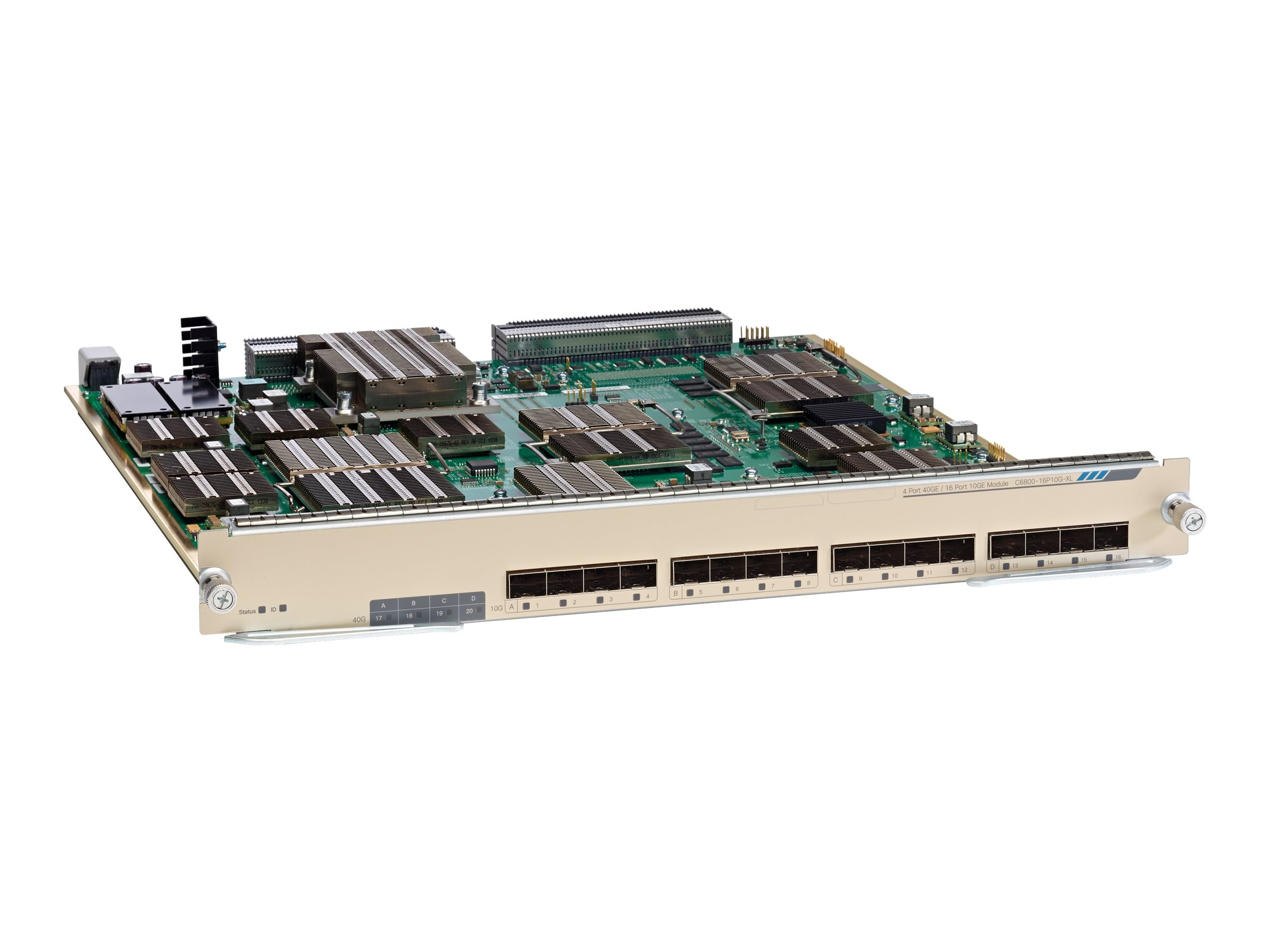 Cisco Catalyst 6800 8-Port 10GE with Integrated DFC4XL