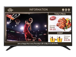 LG 55 LW540S Full HD LED-LCD TV, Black, 55LW540S, 31985640, Televisions - Commercial