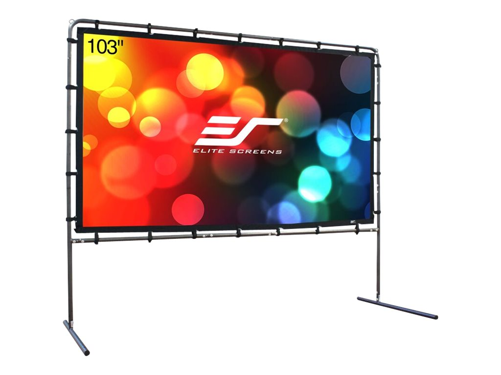 Elite Yard Master Outdoor Projector Screen, 16:9, DynaBrite, 60 x 107, OMS123HR, 17589878, Projector Screens